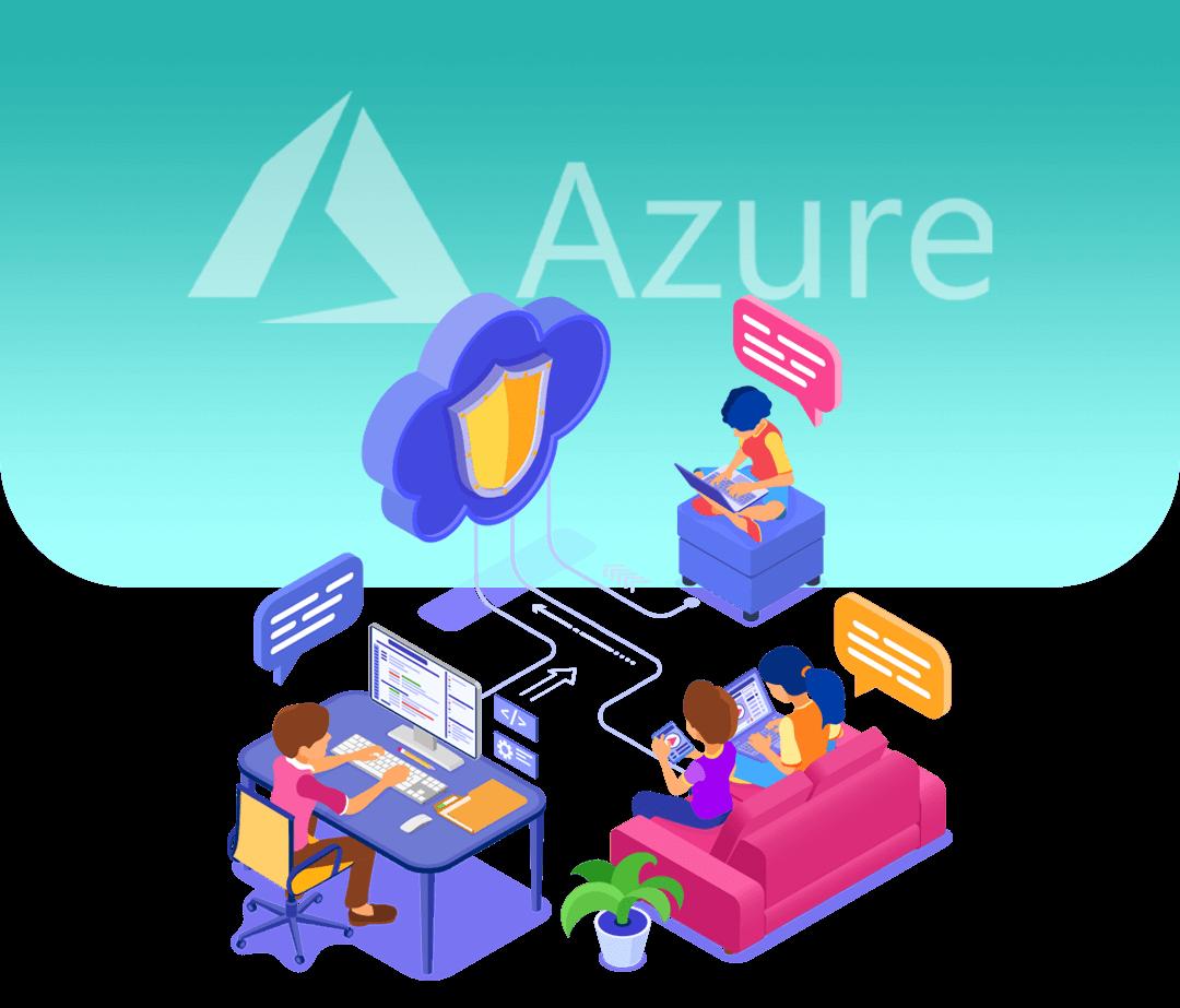 Azure szekció fejléc
